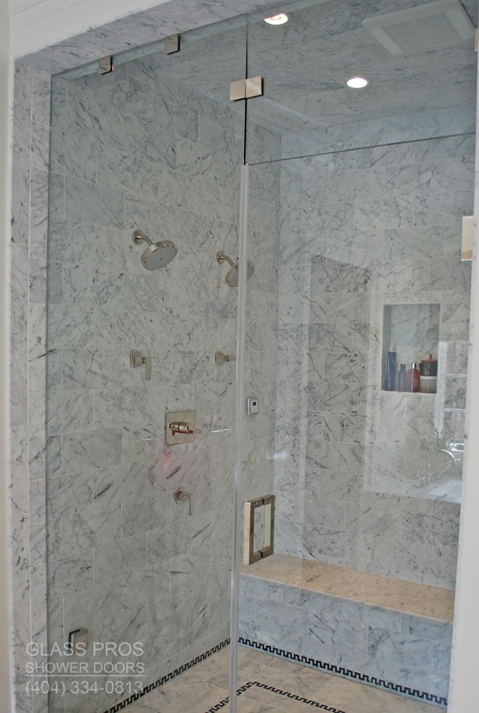 Tempered Gl Large Shower Enclosure