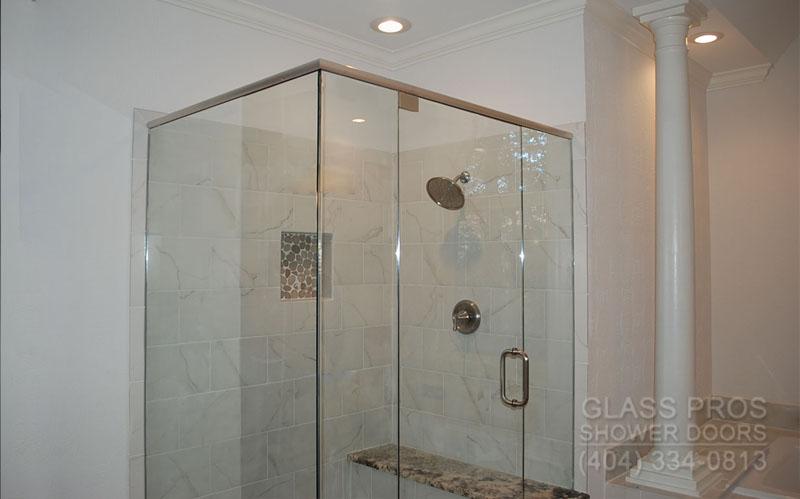 roswell semi frameless shower enclosures. Frameless Shower Doors Roswell GA   Glass Enclosure