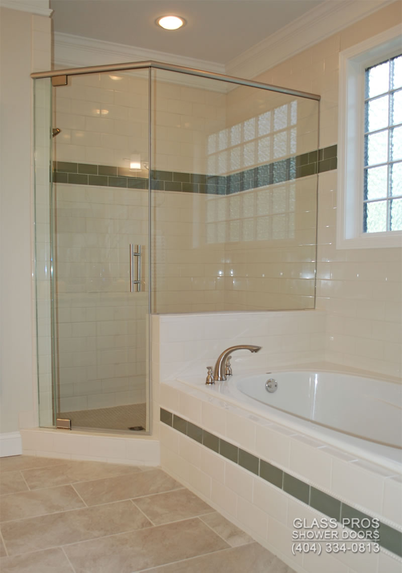 Frameless Shower Doors Canton GA | Glass Enclosure