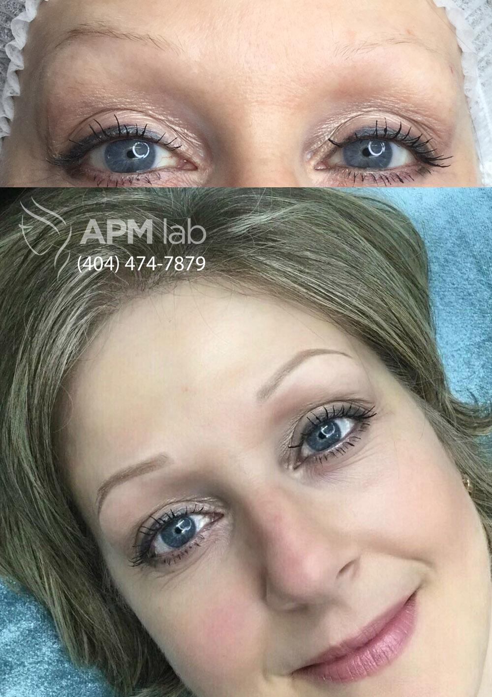 Permanent Makeup Roswell GA Eyebrows Eyeliner